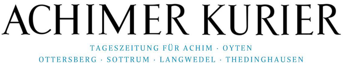 Logo der Zeitung Achimer Kurier