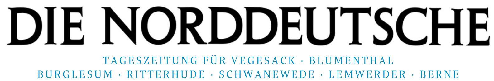 Logo der Zeitung Die Norddeutsche