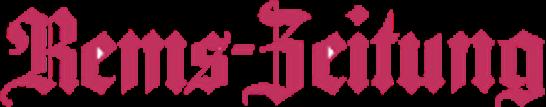 Logo der Zeitung Rems-Zeitung Schwäbisch Gmünd