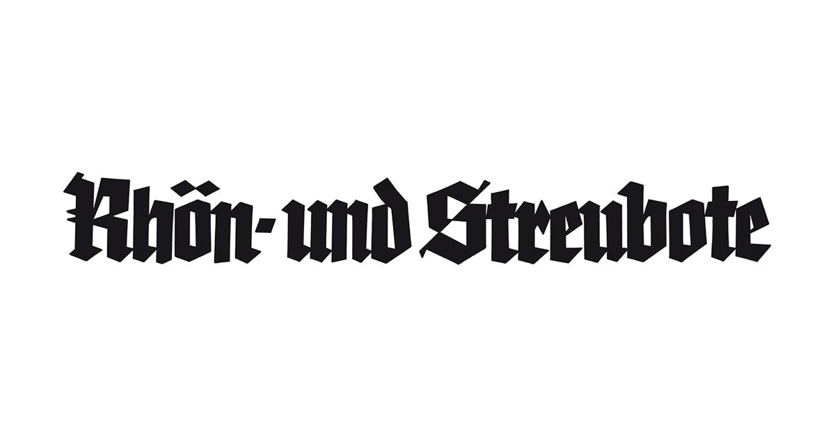 Logo der Zeitung Rhön- und Streubote