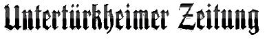 Logo der Zeitung Untertürkheimer Zeitung