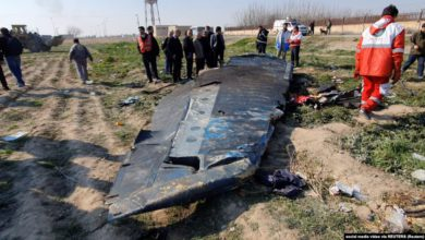 Photo of Ministers Say Iran Won't Hand Over 'Damaged' Black Box Of Downed Ukrainian Plane