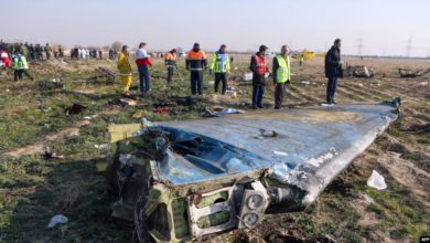 Evidence From Downed Ukrainian Flight