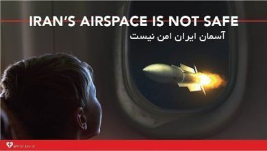 Petition #2: Do not fly over Iran