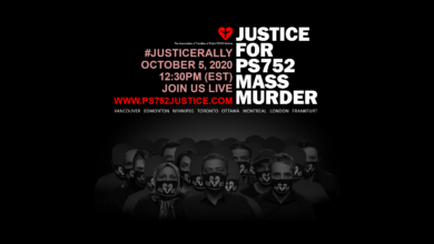 Rally - Justice for PS752 Mass Murder