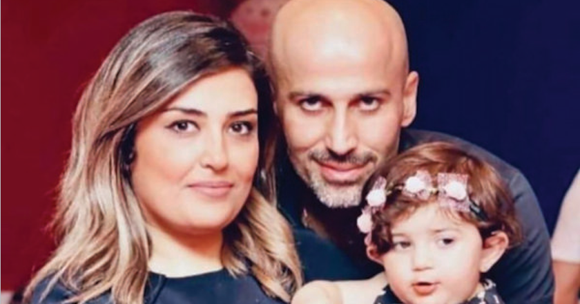 Evin Arsalani and her family