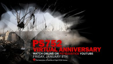PS752 Virtual Anniversary - January 8th