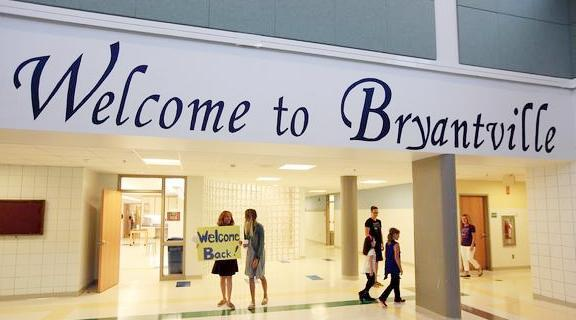 Welcome to Bryantville Sign