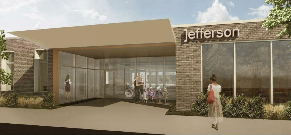 front of new jefferson