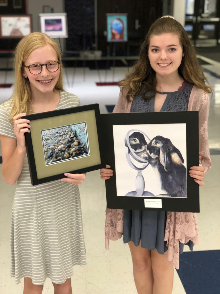 superintendent art award winners