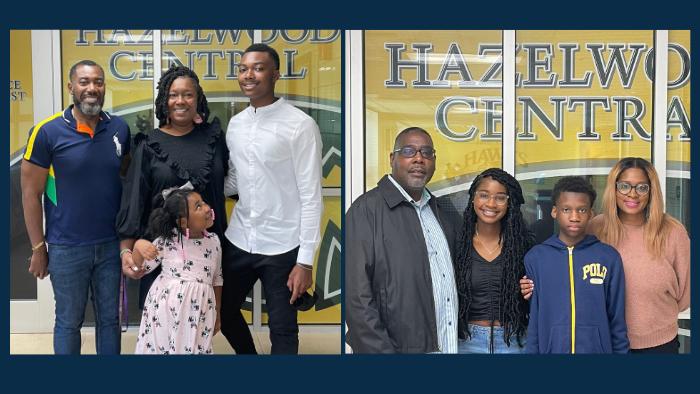 Kameron Hall Scholarship recipients