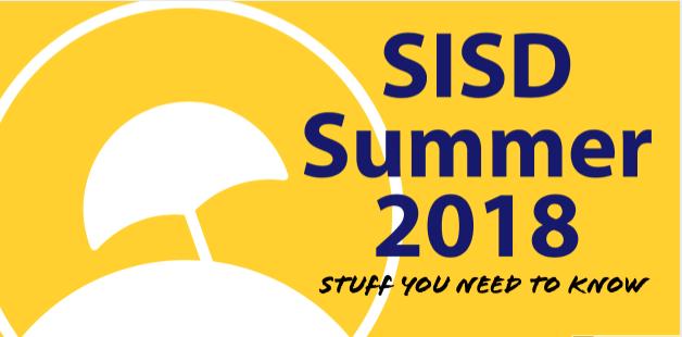 SISD Summer 2018