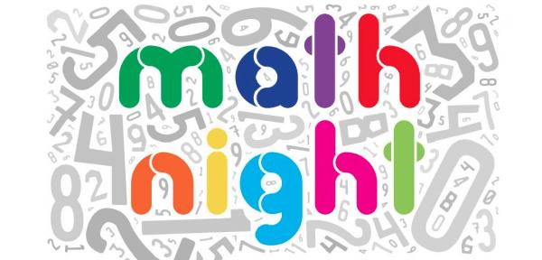 Math Night Graphic
