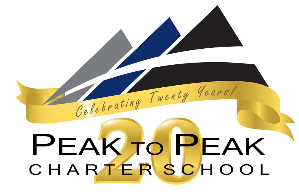 Peak to Peak's 20th Anniversary Logo