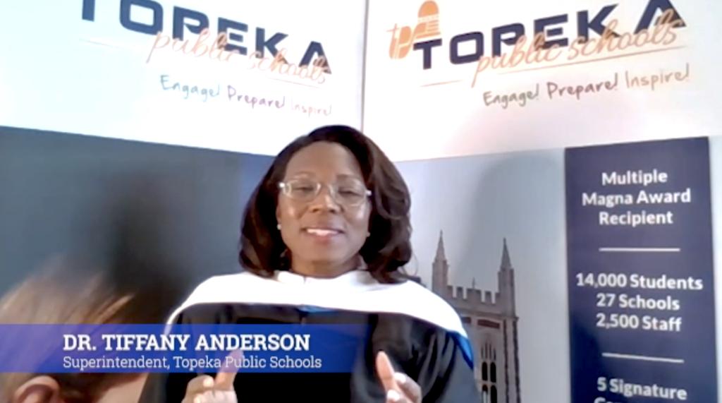 Dr. ANderson Graduation Speech