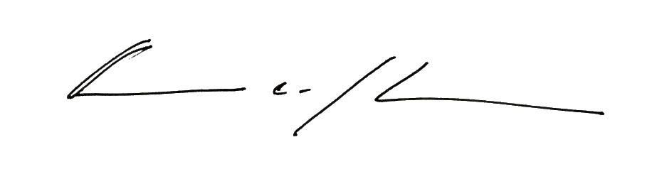 Aaron Johnson signature