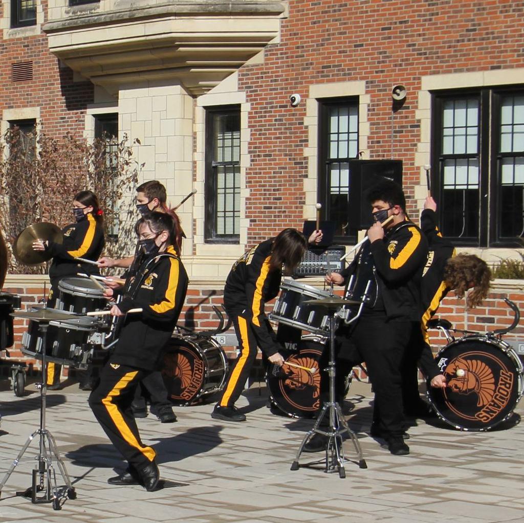 THS Drumline Performance