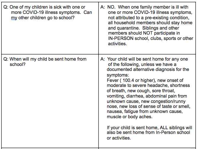 IDPH FAQ 2 - Information also available in PDF link above