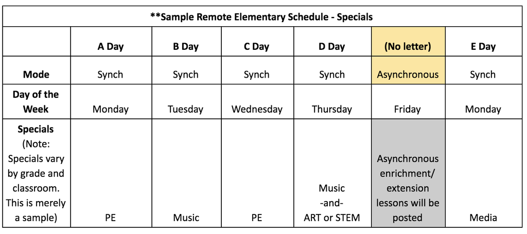 Sample Remote Elementary Schedule - Specials.png