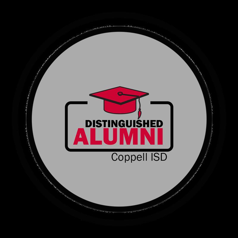 Distinguished Alumni badge