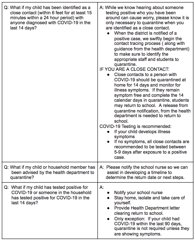 IDPH FAQ 3 - Information also available in PDF link above