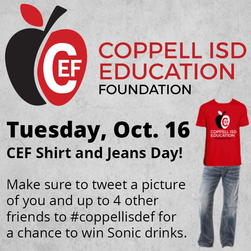CEF Shirt Day