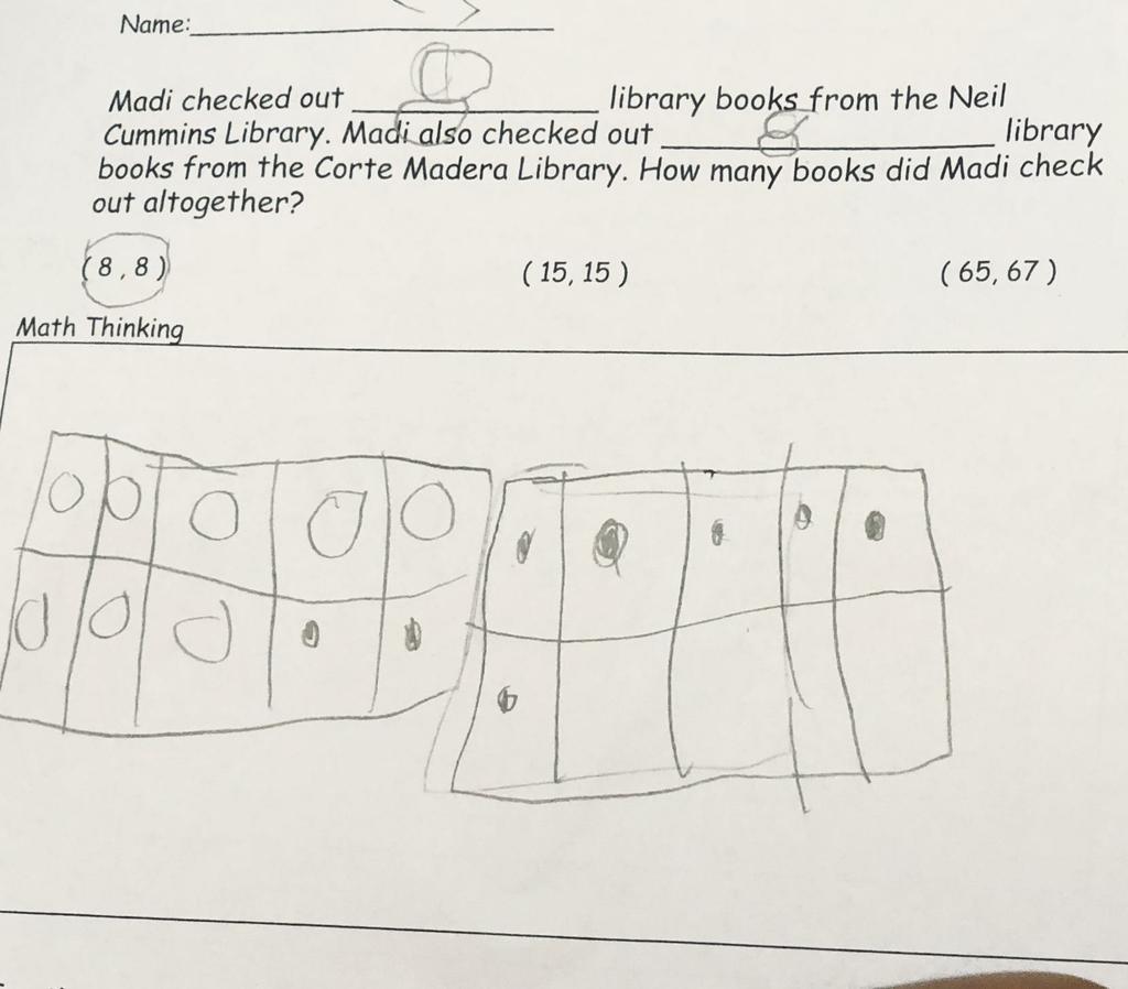 cgi problem 1st grade