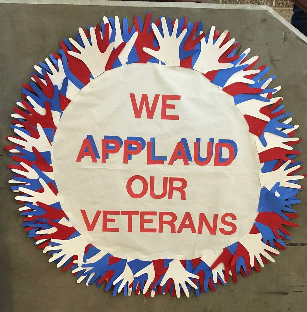 We applaud our Veterans