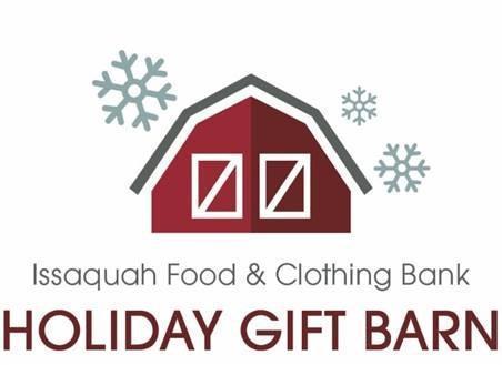 Issaquah Food & Clothing Bank Holiday Gift Barn