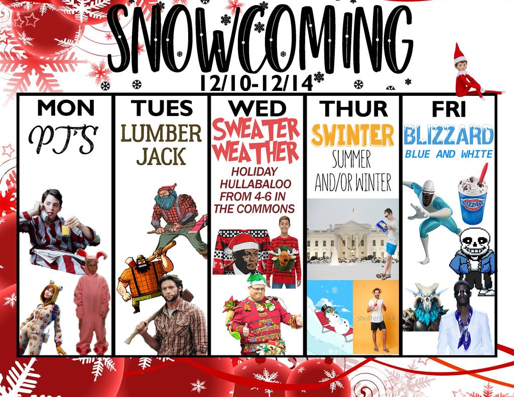 Snowcoming calendar