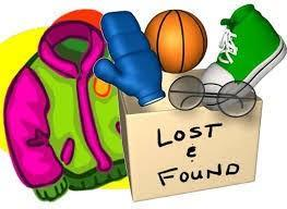 Lost & Found jacket, shoe, ball