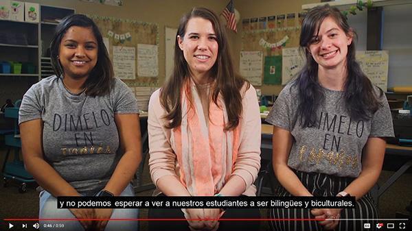 Dual Language Video