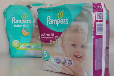 De verschillen tussen Pampers Active Fit en Pampers Baby Dry