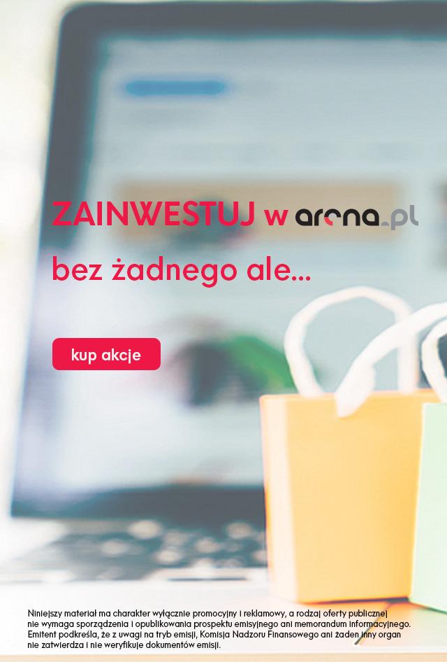 Arena.pl sprzedaż akcji