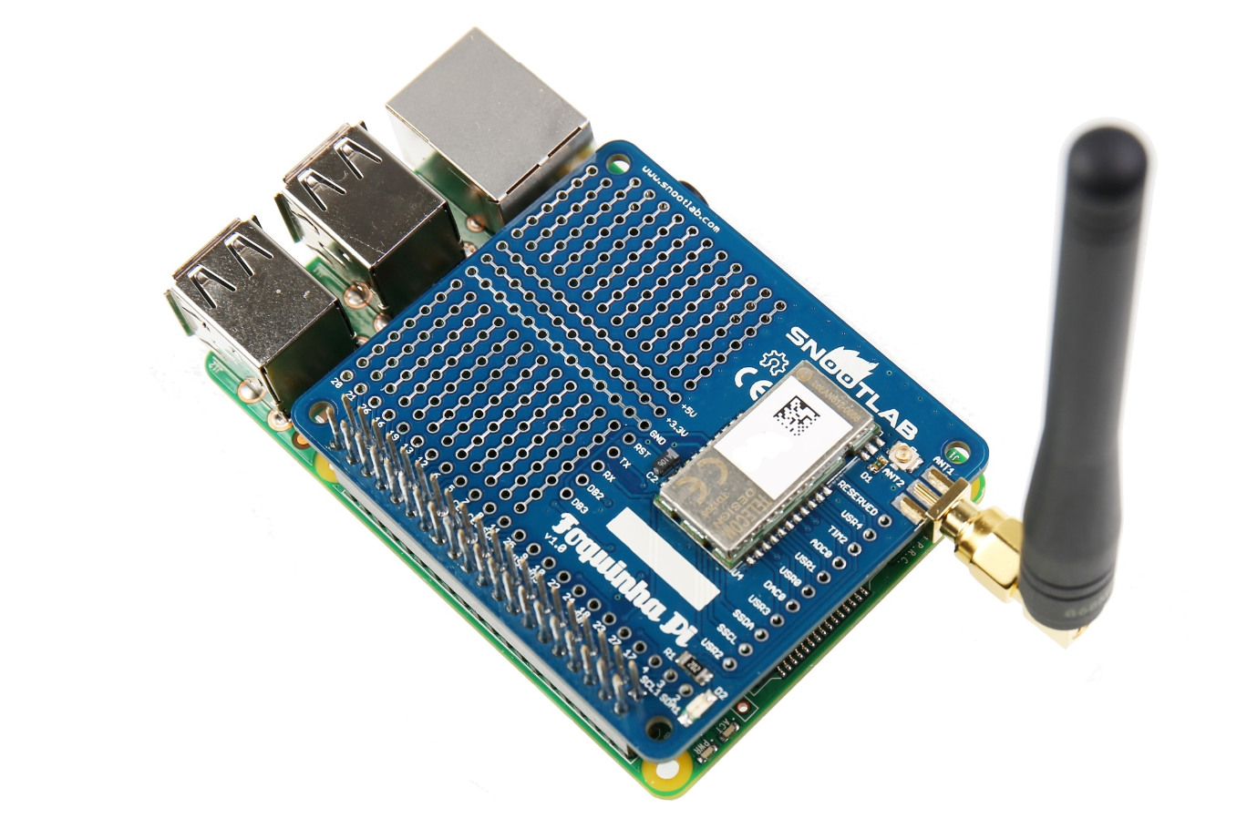 Foquinha Pi Sigfox Partner Network The Iot Solution Book Raspberry Shield For Dummies Experimental Board Analog Digital Make Prototypes With Technology On All Versions