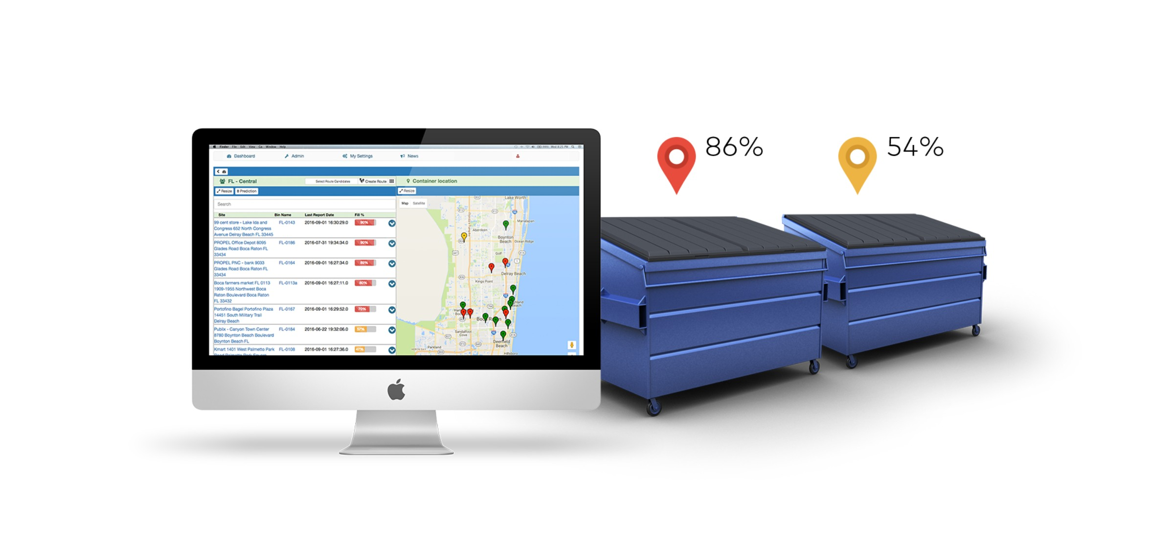 OnePlus Intelligent Waste Monitoring | Sigfox Partner Network | The