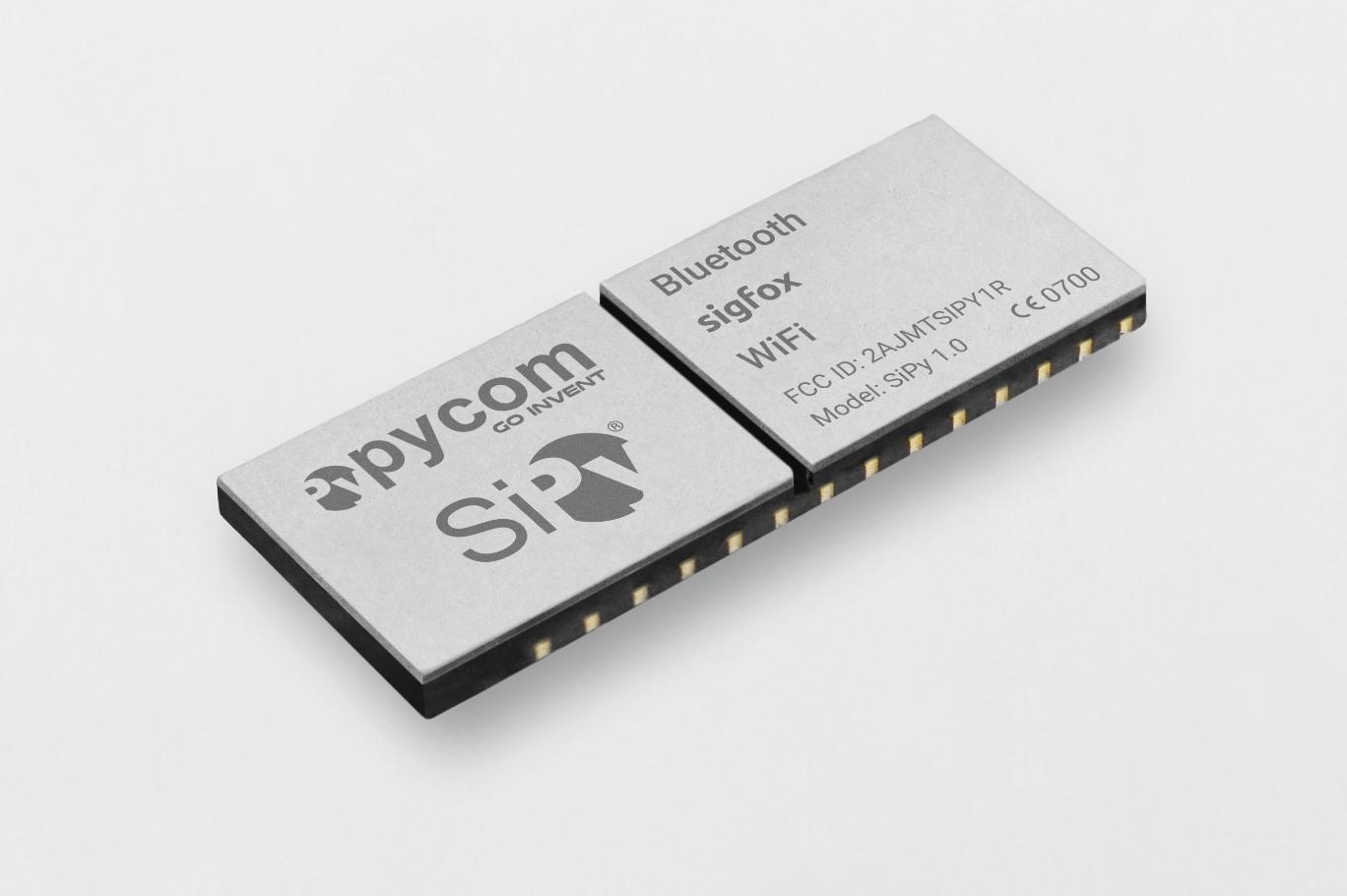 S01 (SiPy) OEM Module 22dBm | Sigfox Partner Network | The