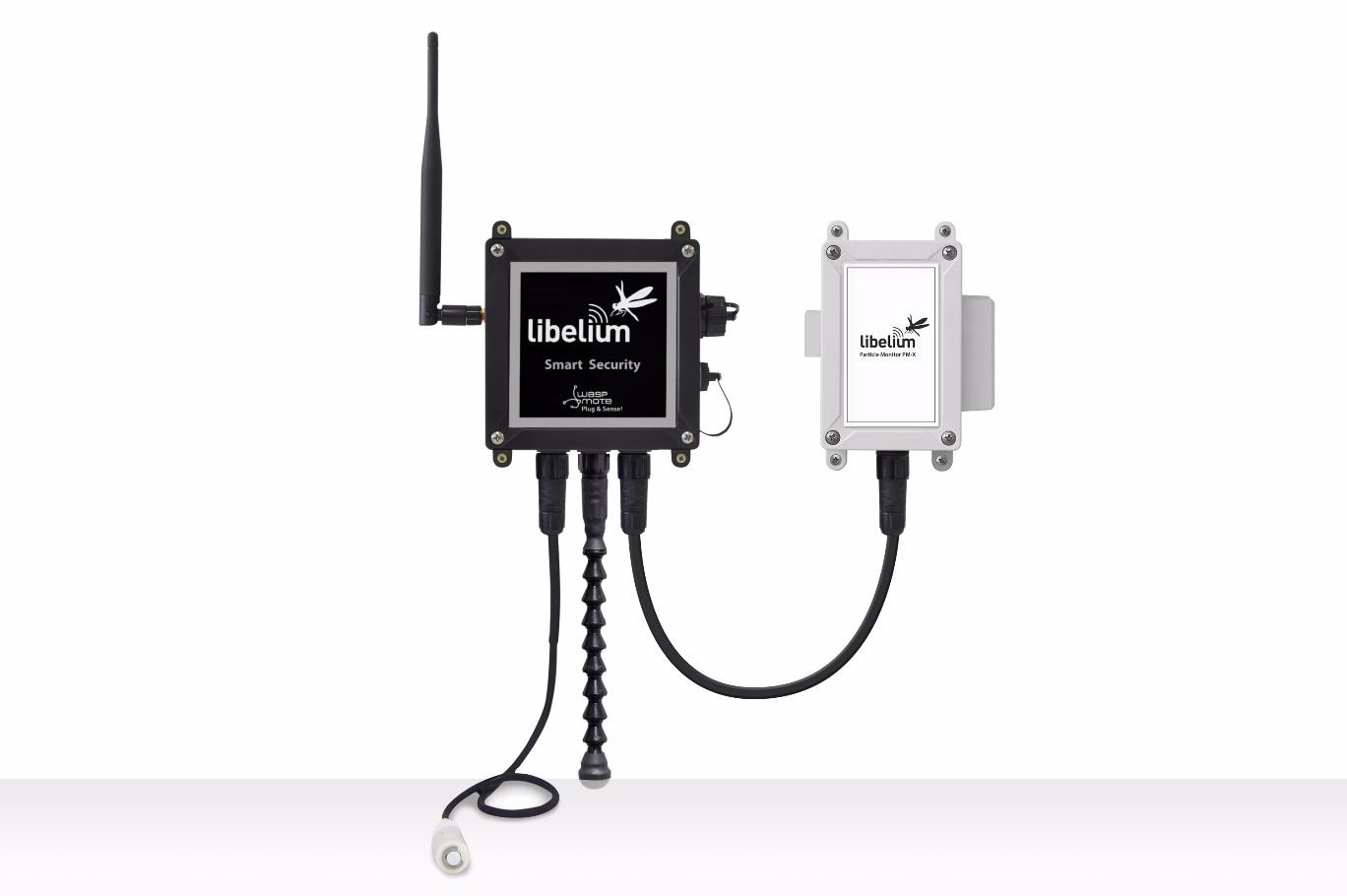 Waspmote Plug & Sense! Smart Security RC1 | Sigfox Partner Network