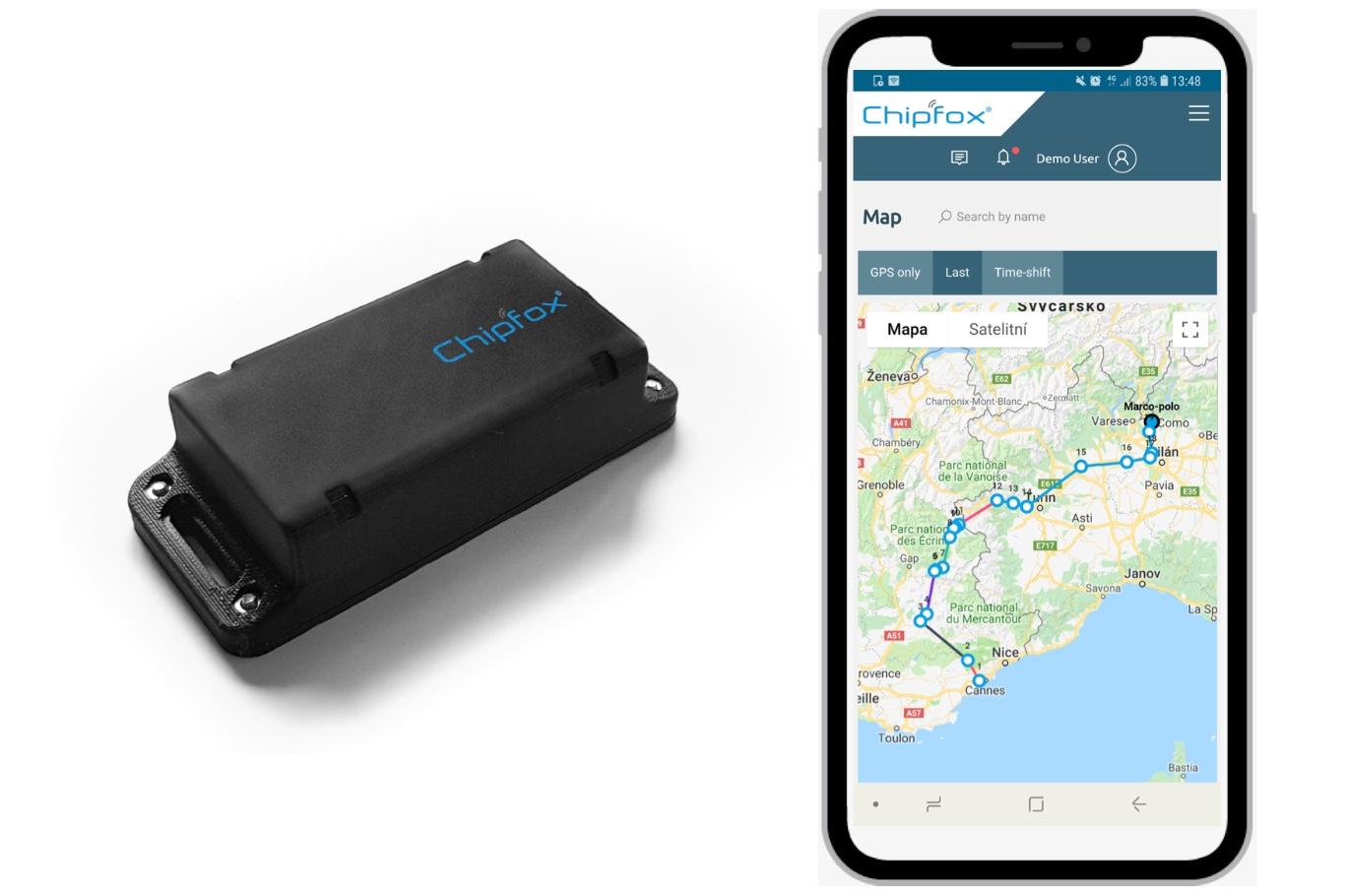 Chipfox GPS tracker | Sigfox Partner Network | The IoT solution book