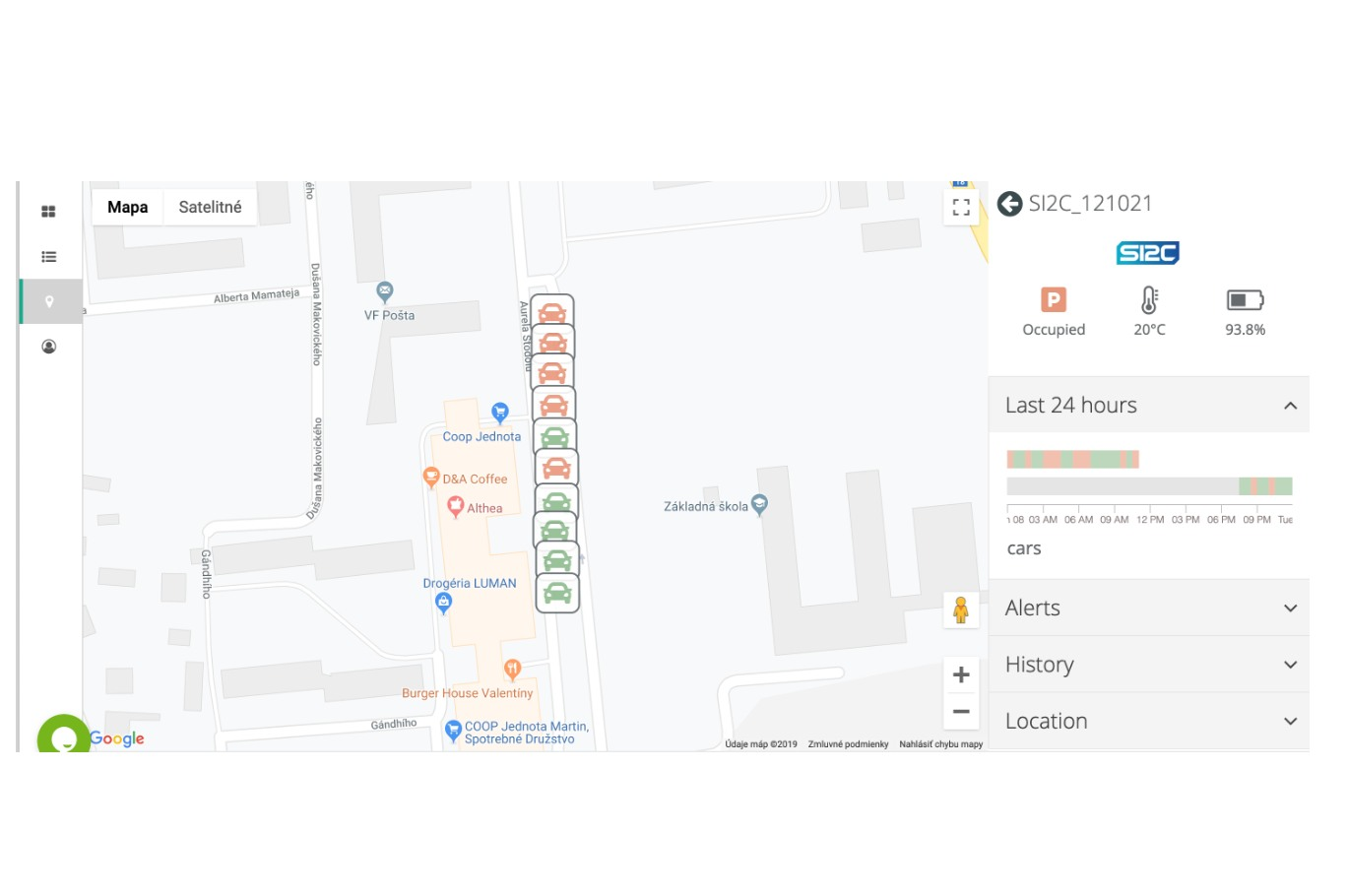 Parking Pill RC1 | Sigfox Partner Network | The IoT solution book