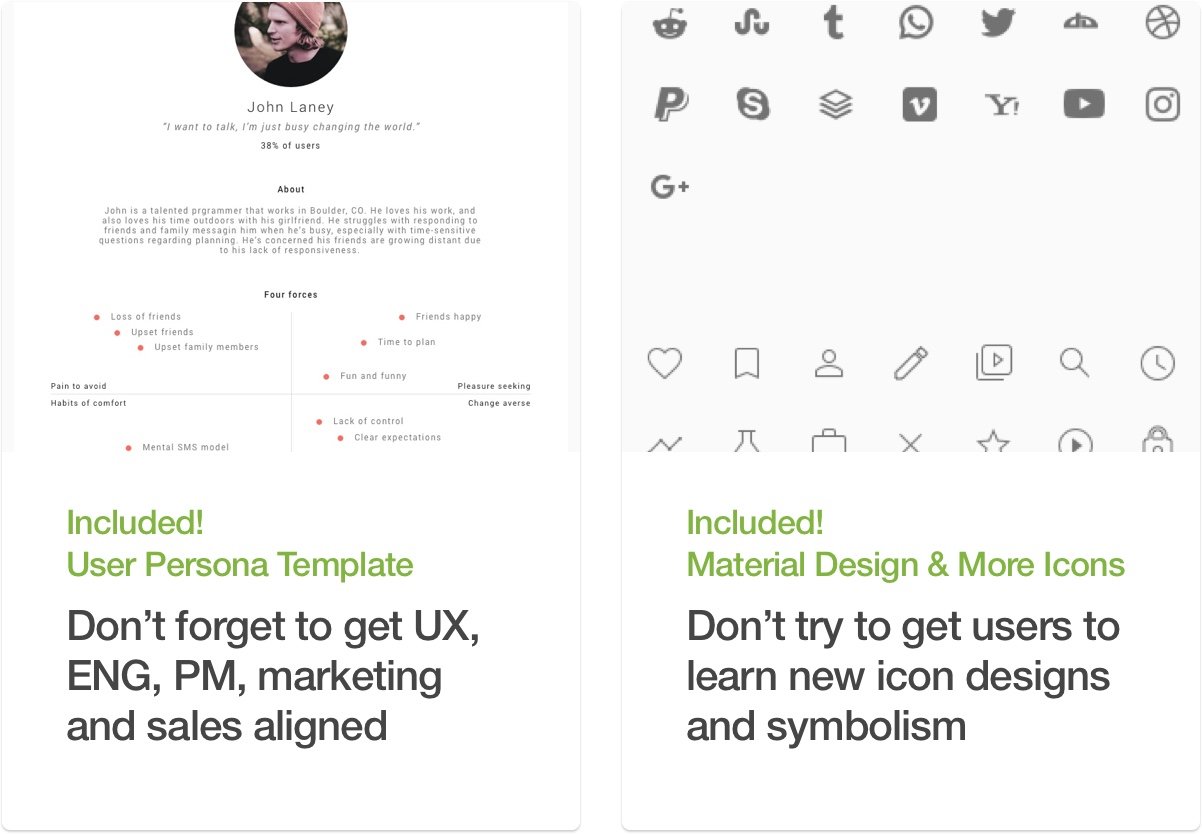 Company In a Box: Launch [UX Sketch Template] - 14