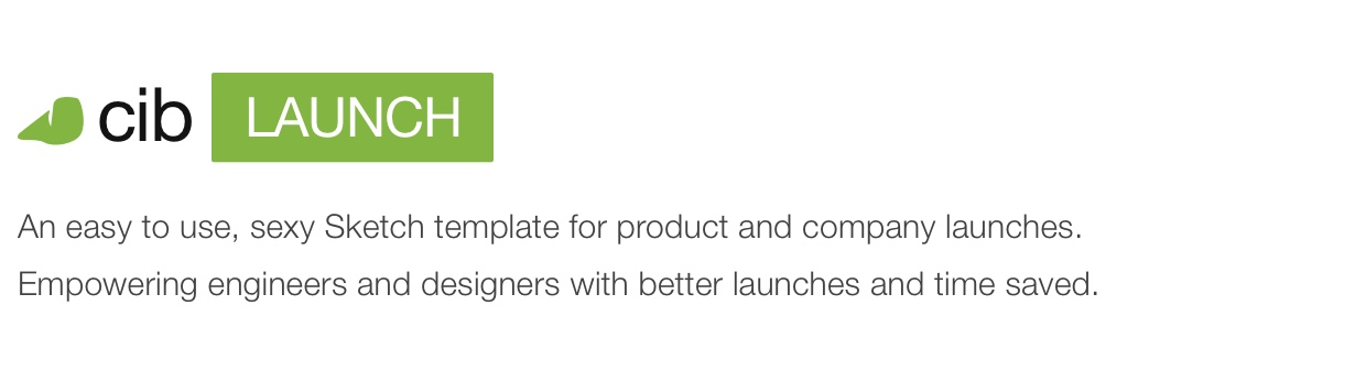 Company In a Box: Launch [UX Sketch Template] - 1