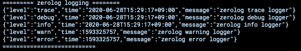 zerolog-terminal