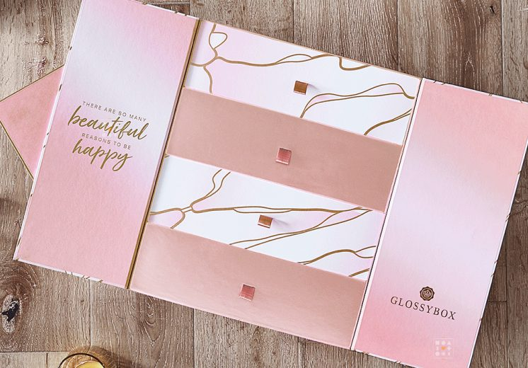calendrier avent glossybox 2021