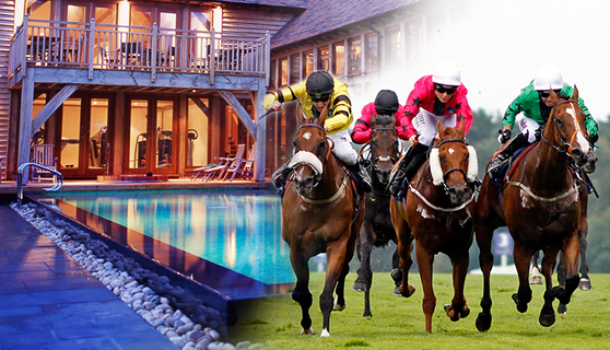 Win a spa break by the sea and a day at the races!