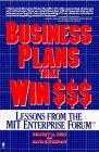 book covers business plans that win dollars