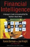 book covers financial intelligence