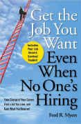 book covers get the job you want even when no ones hiring