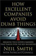 book covers how excellent companies avoid dumb things