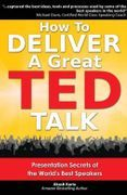 book covers how to deliver a great ted talk